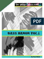 Bass Hanon