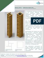 Innova - Formaleta - Graduables - Brochure -2