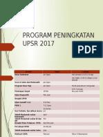 Program Peningkatan Upsr 2017