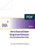 ChrisLionetti-How to Choose Evaluate Storage Environment Consumer