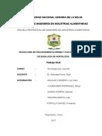 Informe Final Poscosecha