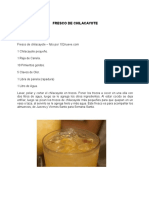 5 Recetas de Refresco Guatemaltecos