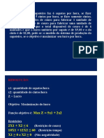 Metodos Quantitativos 2016 2 Secao 01 PO ISMAEL parte 1 Exercícios