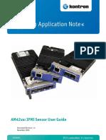 An09005 Am42xx Sensor User Guide v1.0