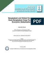 Bangladesh in Global Economy