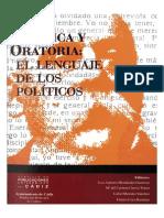 Politica y Oratoria El Lenguaje de Los Politicos 0
