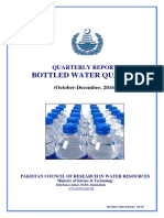 Bottled Water Report Oct-Dec. 2016