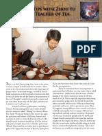 Gong Fu Tea Tips With Zhou Yu