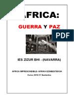 Trabajo escolar realizado por el alumnado del IES Zizur Bhi sobre la exposición de Gervasio Sánchez