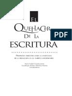 María Ysabel Garcida Juárez - El quehacer de la escritura