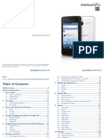 Alcatel Onetouch Pixi Owners Manual