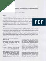 Studi Alterasi Hidrotermal Daerah Karangbolong, Kabupaten Kebumen, Jawa Tengah