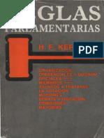 Kerfoot, H.F. Reglas Parlamentarias.