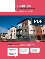 2017-02 Mayor of London - Estate Regeneration - Toolkit for Local Meetings