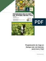 Programación de riego en tiempo real, via internet, para maz y frijol.pdf