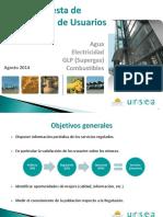 Encuesta de usuarios URSEA 2014