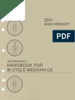 Handbook for Bicycle Mechanics by Howard Sutherland