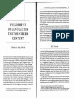 Philosophy of Language-Baldwin