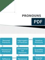 Pronouns,