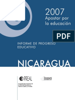 Informe de Progreso Educativo 2007