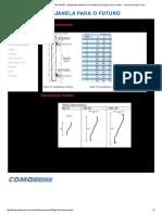 Dimensionamento - Dimensões Padrão - Venezianas Industrial Comovent Uma Solução Muito a Frente - Comovent Grupo Como