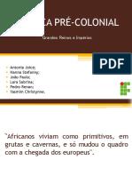 A África Pré-colonial