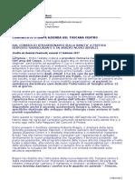 PONTICELLI - Consiglio Straordinario Sanità Pistoia