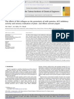Collagen_The Effects of Fish Collagen on the Proteolysis of Milk Proteins