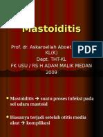 Mastoiditis Ppt