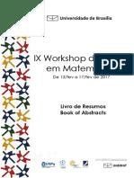 resumos IX Workshop de verão UNB