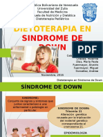 Dietoterapia en Sindrome de Down