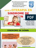 Dietoterapia en Sindrome de Down
