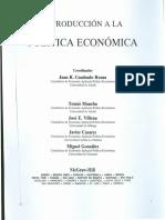 El Marco de La Política Económica - Economía de Mercado a Las Economías Mixtas