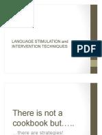 langearly14 language stimulation techniques