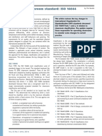 Revision to Cleanroom Standard ISO 14644