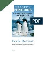 MSTM 514 Book Review - Fraser's Penguins