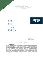 formacion Critic A