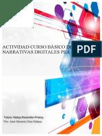 ACTIVIDAD CURSO BÁSICO DE NARRATIVAS DIGITALES PEA