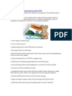 How to Write Second Appeal Under RTI