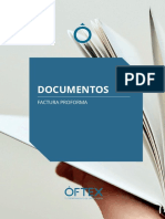 Factura-Proforma Docs Oftex