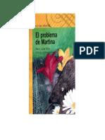 El Problema de Martina Portada