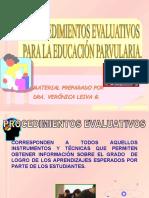 Procedimientos Evaluativos Epa