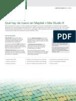 Maptek I-Site Studio 6 Nuevas Caracteristicas ESP