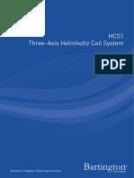 DS2613 Helmholtz Coil System