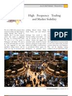 EES - FX Trader Magazine - High Frequency Trading and Market Stability