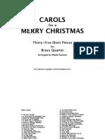 W.rackley-Carols for a Merry Cristmas