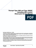 Tiger 800 Service Manual
