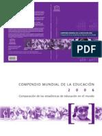 2006 UNESCO Compendio Mundial de la educación