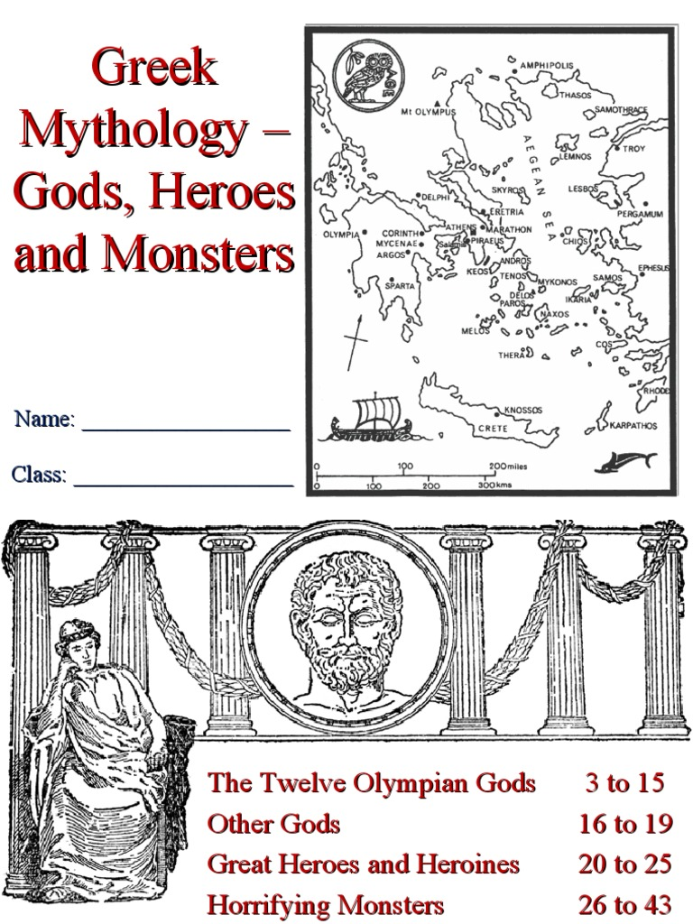 Greek Mythology Gods Heroes And Monsters Hades Zeus