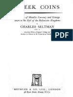 SELTMAN - Greek Coins